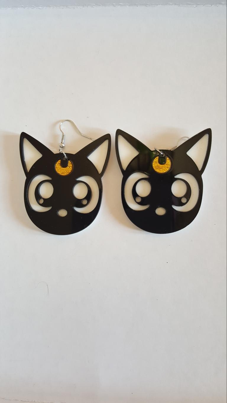 orecchini  gatto di